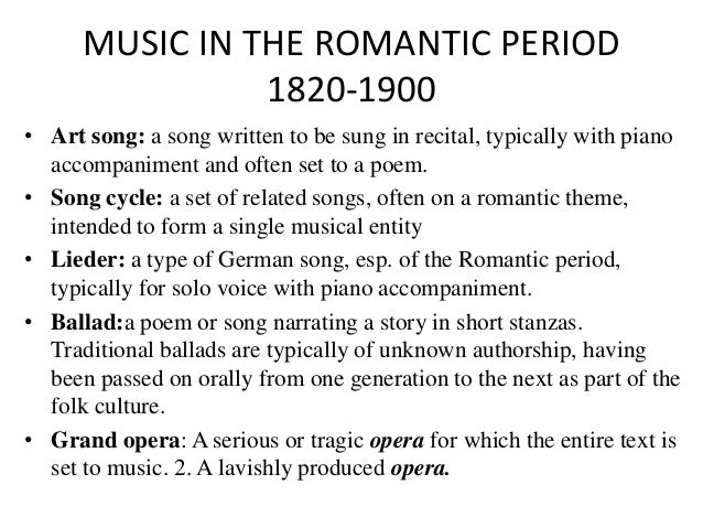music and the romantic period 101 names each has a full discography available for download.