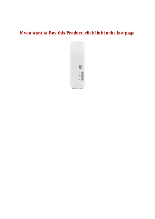 Review Huawei Unlocked E8372 4GLTE Wi-Fi Dongle with a 6 GB