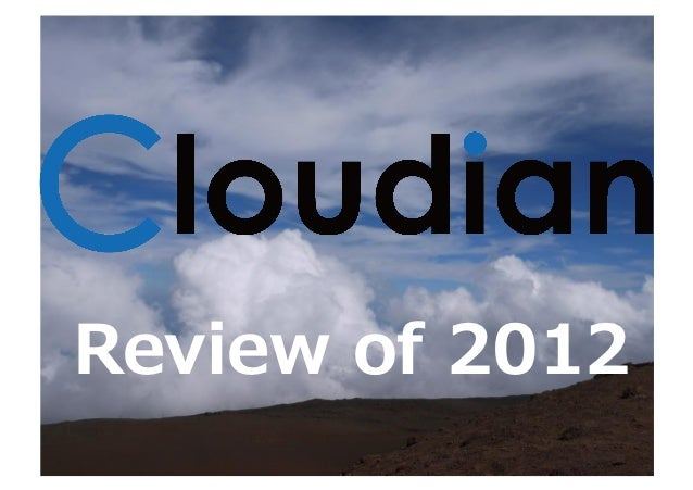 Review of 2012