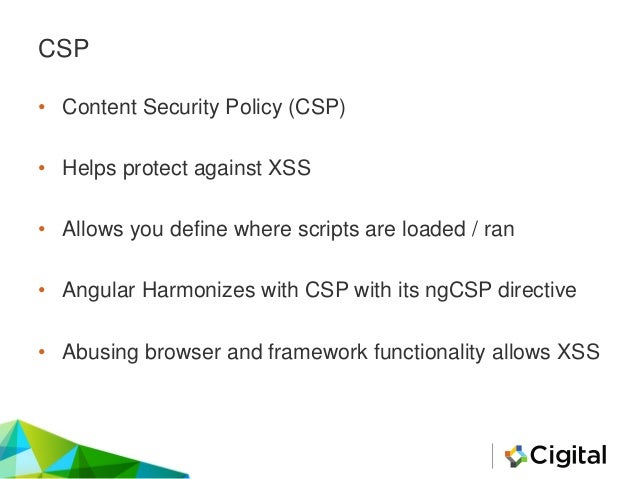 Universal CSP Bypass Explained • http://example.com/foo?xss=evilCode <?php header('Content-Security-Policy: default-src 's...