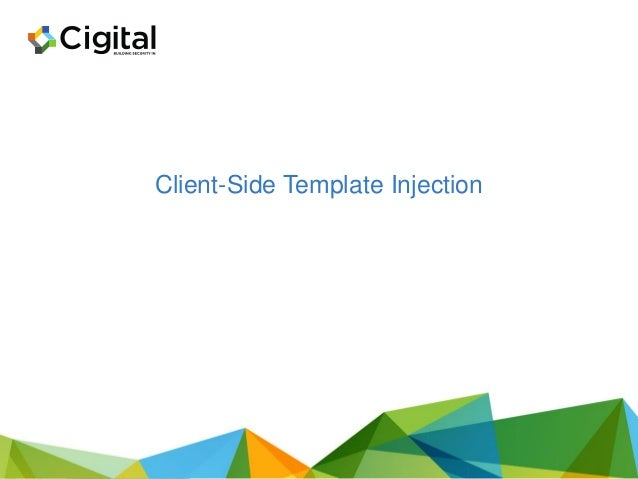 Combined Template Injection Code app.get('/mixed', function(req,res){ //Send the name to the ejs template res.render('../s...