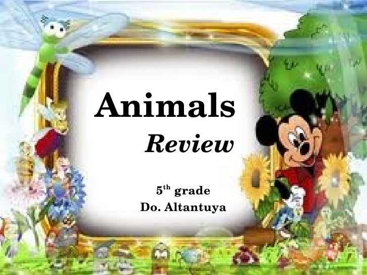 Animals      Review        5thgrade      Do.Altantuya
