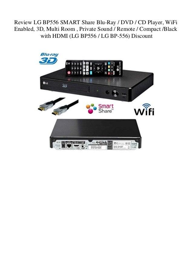 Review LG BP556 SMART Share Blu-Ray DVD CD Player WiFi