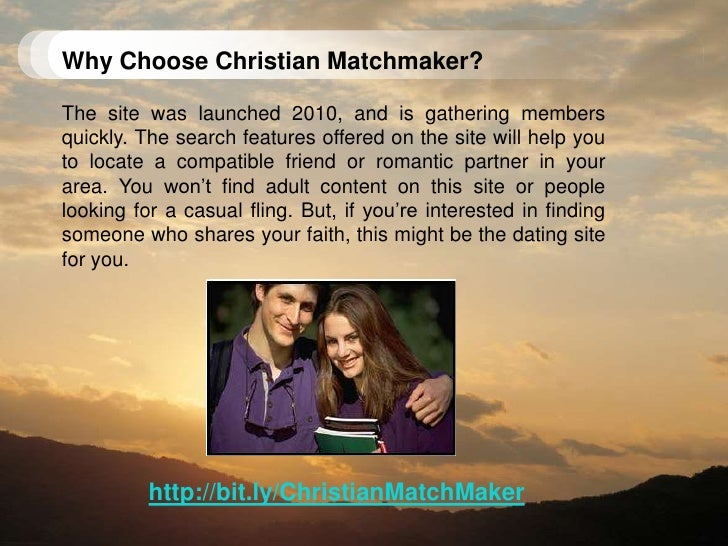 <br />; 3. Why Choose Christian Matchmaker?