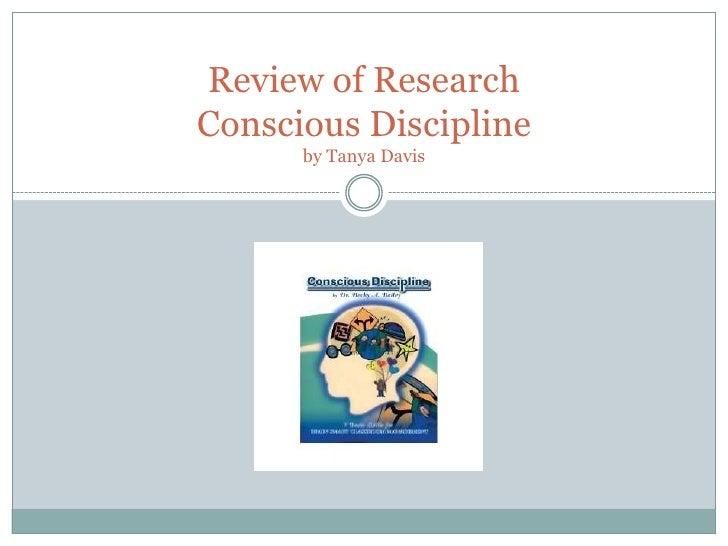 review of conscious discipline slide show