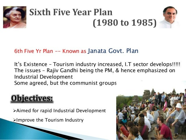 sixth five year plan of india