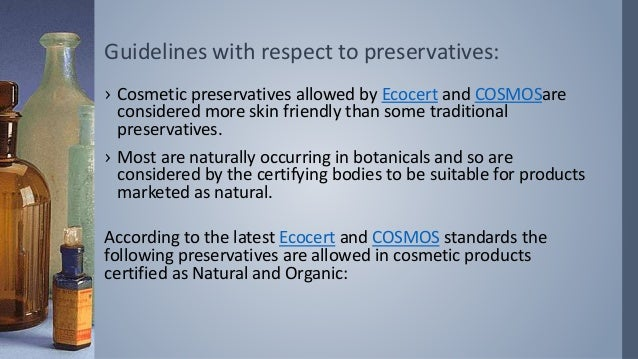 Review of guidelines for herbal cosmetics by COSMOS