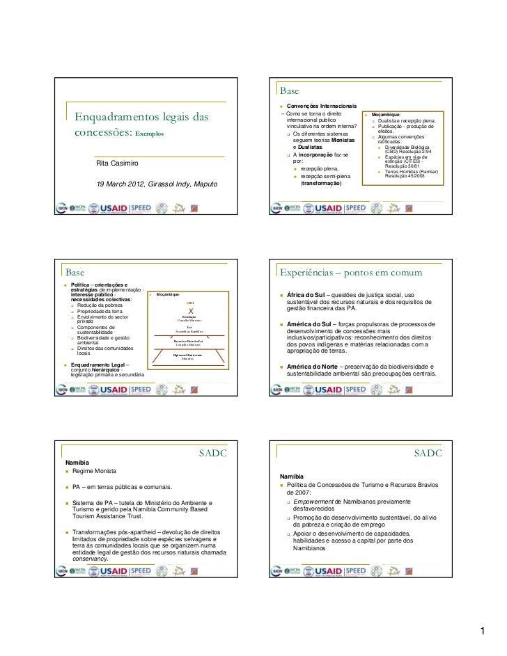 Base                                                                               Convenções Internacionais  Enquadrament...