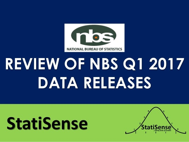 StatiSense REVIEW OF NBS Q1 2017 DATA RELEASES