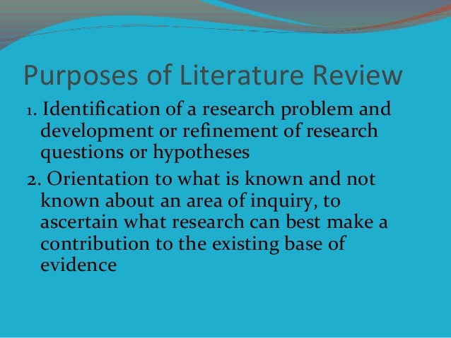 review of related literature a development As part of their research program, many students are instructed to perform a literature review, without always understanding what a literature review is.