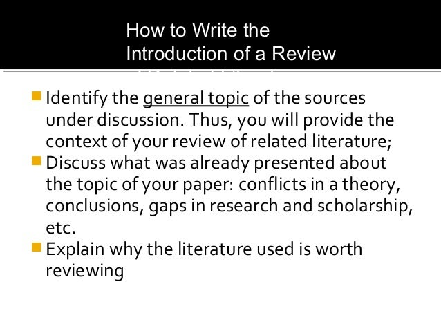 discuss the importance of review of related literature in educational research Approaches to learning: literature review na li ib research paper approaches to learning related theories overview of this literature review in section 1, common educational objectives across national and international educational systems are.