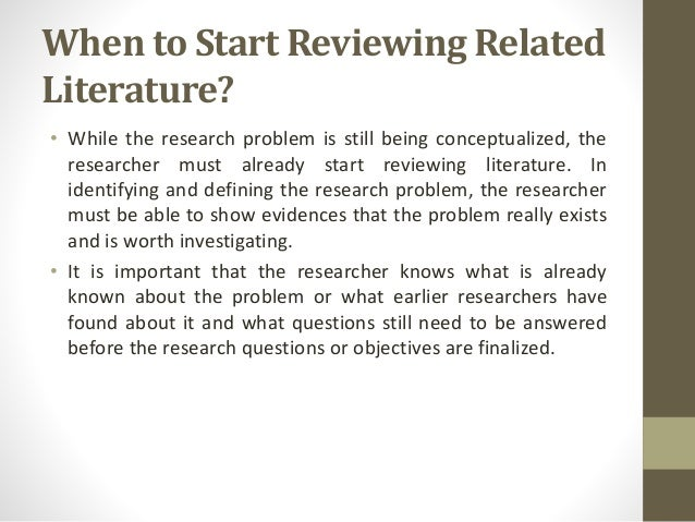 review of related literature for gadgets Literature review template definition: a literature review is an objective proposal), as well as the scope of the related literature being investigated.