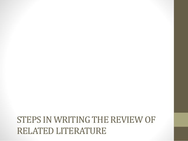 review of related literature sensor Davey resource group i table of contents background1.
