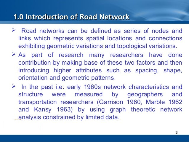 an introduction to the maintenance of road networks Introduction to road network operations and its component activities in electronic form: a compendium, case studies, guidelines developed by the technical committee on road network operations/intelligent transportation systems of the world road promoting sustainable maintenance of rural roads networks.