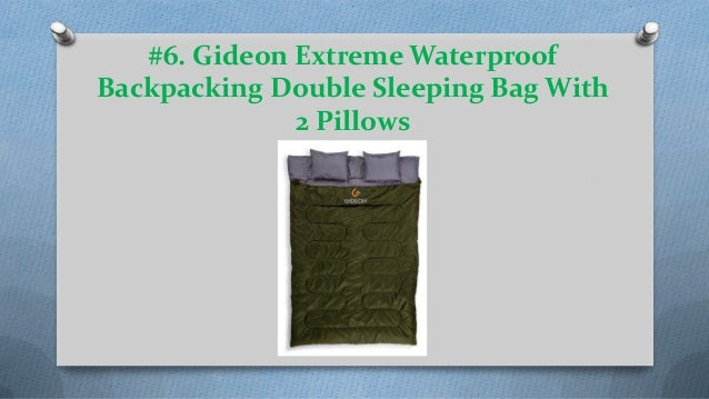 cff583522a4 WINNER OUTFITTERS Double Sleeping Bag With Compression Sack  6.