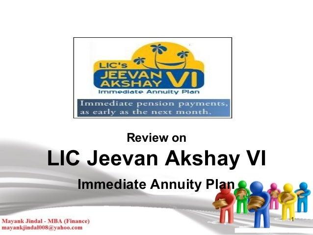 LIC JEEVAN AKSHAY 6 EPUB