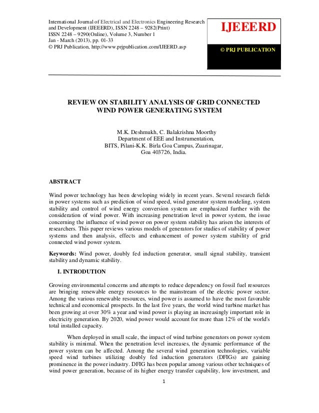 International Journal of Electrical and Electronics Engineering Research and Development (IJEEERD)                        ...
