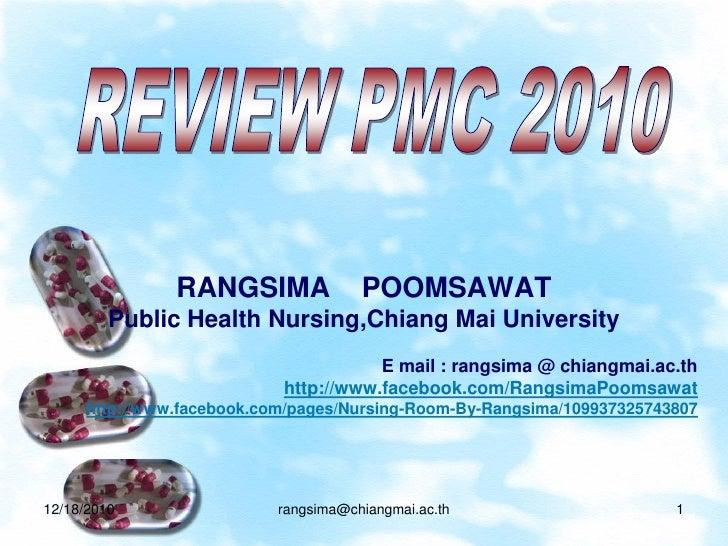 RANGSIMA              POOMSAWAT         Public Health Nursing,Chiang Mai University                                       ...