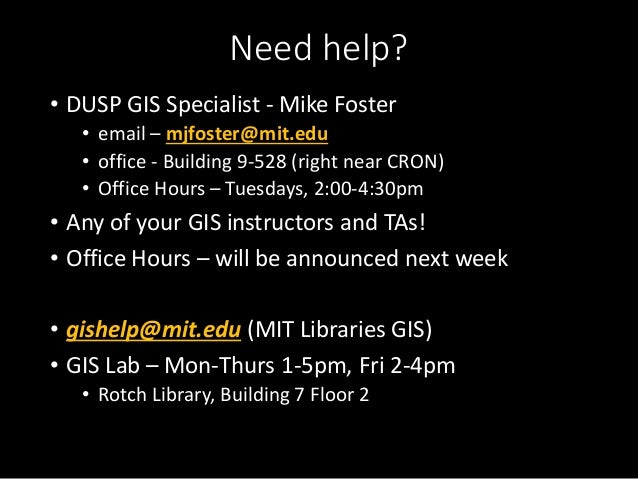 gis lab 2 Meet the people behind the location analytics and gis lab  the gis lab  offers undergraduate and graduate courses as well as  m 2:30pm - 5:30pm.