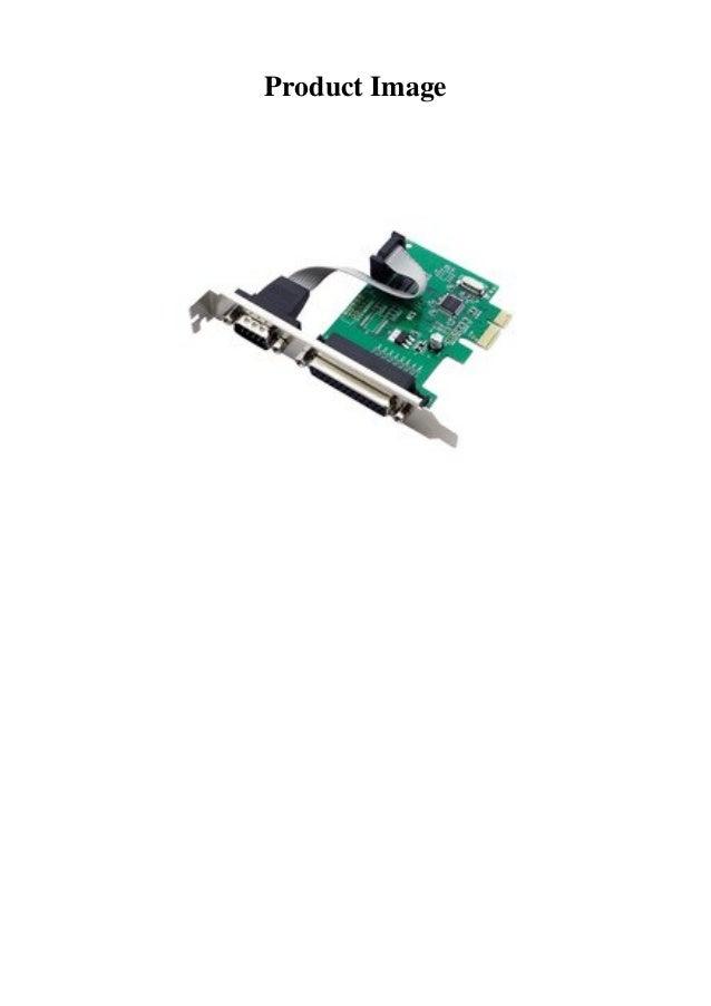 2 Port RS-232 Serial COM /& 1 Port Printer Parallel LPT Port to PCI-E Adapter