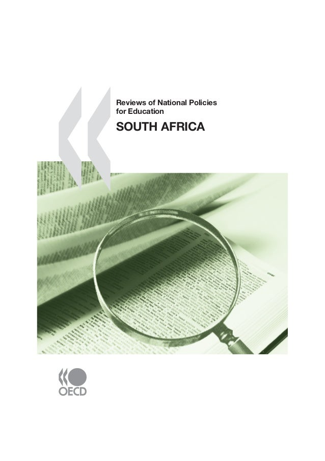 South Africa Reviews of National Policies for Education