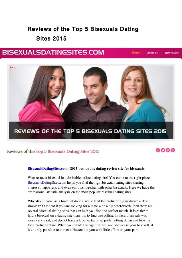 Bisexual friendly dating sites