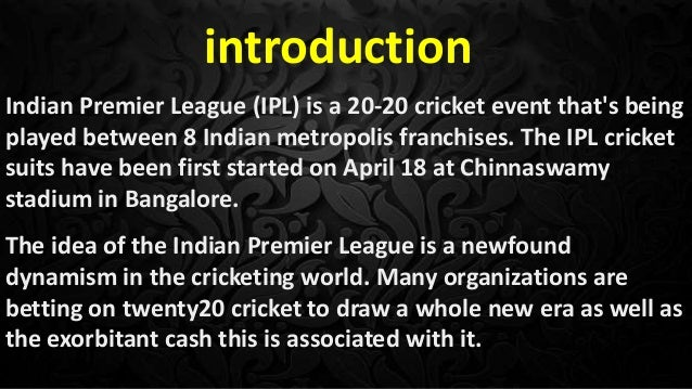 Review to IPL Slide 2