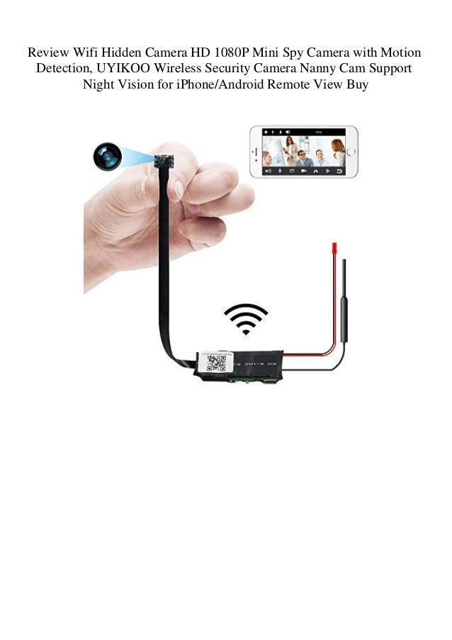Review Wifi Hidden Camera HD 1080P Mini Spy Camera with