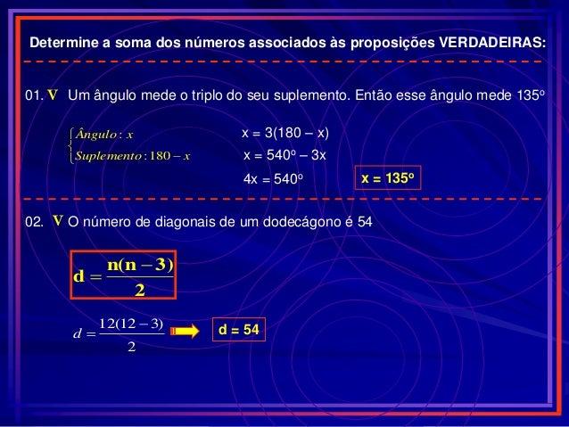 Revisao udesc for Um losango e interno a uma circunferencia de 6cm de raio