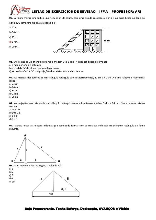 eb2e726ed Exercícios Trigonométria