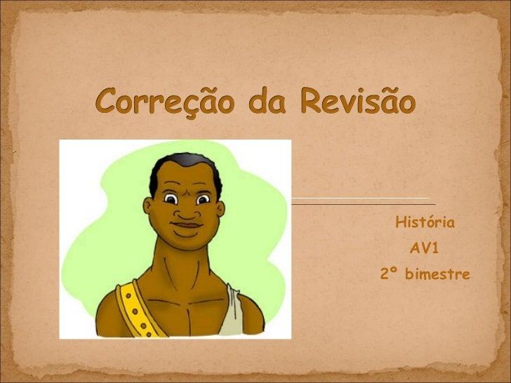 História AV1 2º bimestre