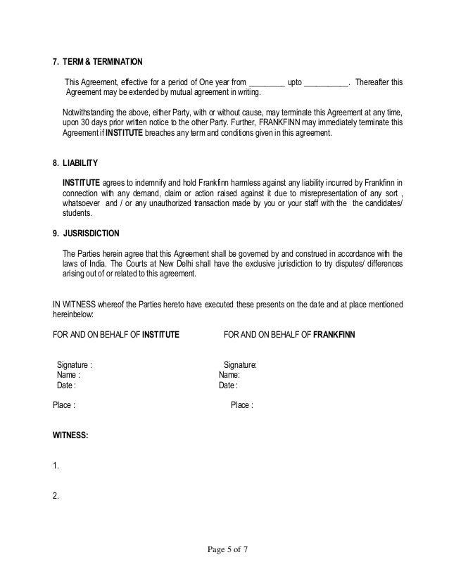 Doc728942 Mutual Agreement Format Mutual Agreement Format 10 – Mutual Agreement Contract Sample