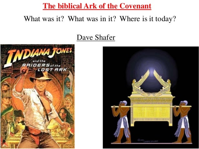 Revised Ark Of The Covenant Talk