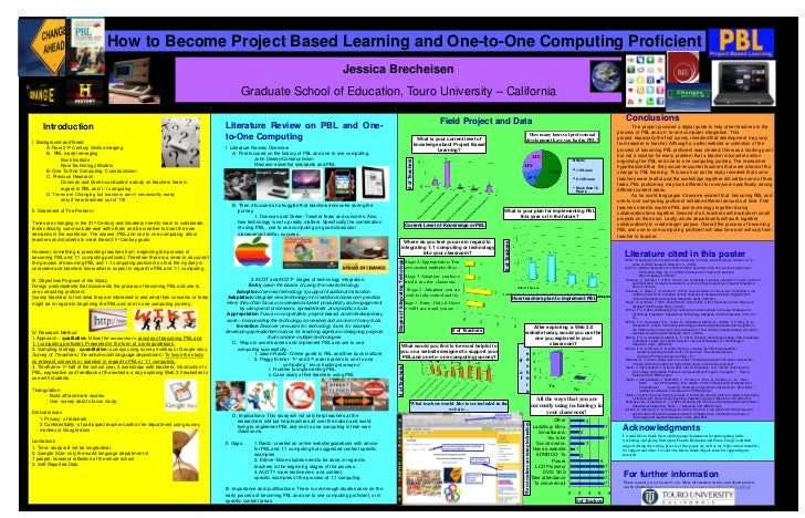 How to Become Project Based Learning and One-to-One Computing Proficient                                                  ...