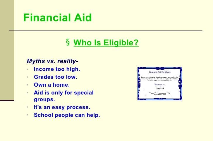 College Financial Planning Information