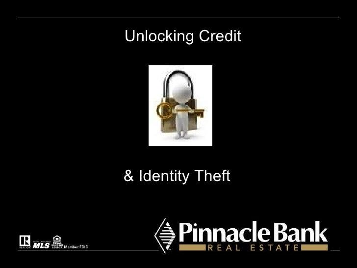 Unlocking Credit & Identity Theft