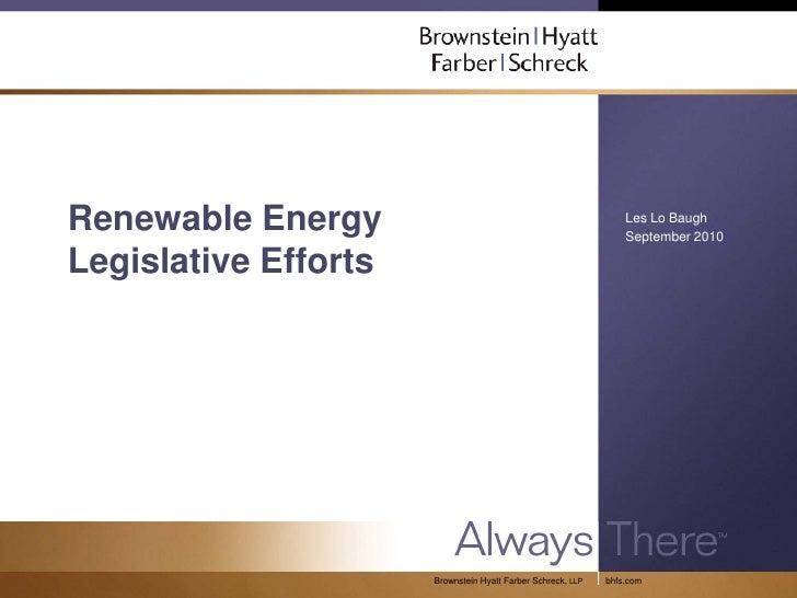 Renewable Energy                                                 Les Lo Baugh                                             ...