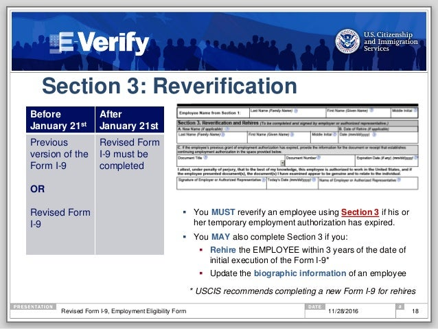 Dhs Presents: The New Form I-9 And E-Verify, Hosted By Smarterp