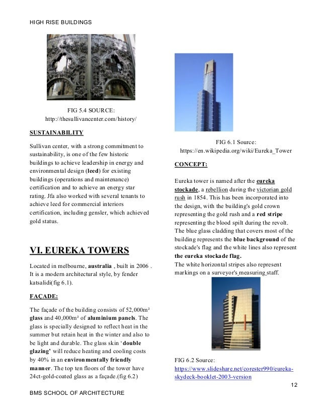 High Rise Buildings Case Study