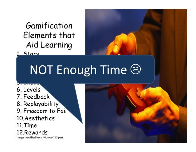 the concept of gamification and the gaming enterprise Next year will be the year gamification fails it's a concept built on hype, and 80 percent of all programs will die by 2014, according to gartner rajat paharia disagrees — 100 perc.