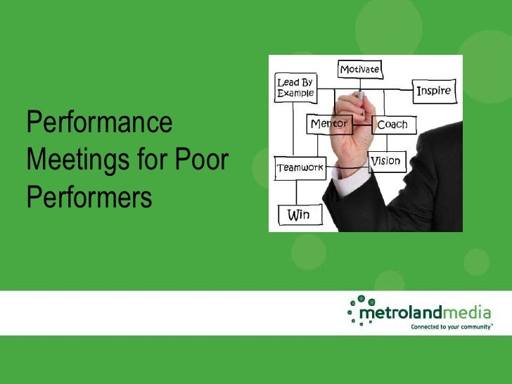 PerformanceMeetings for PoorPerformers