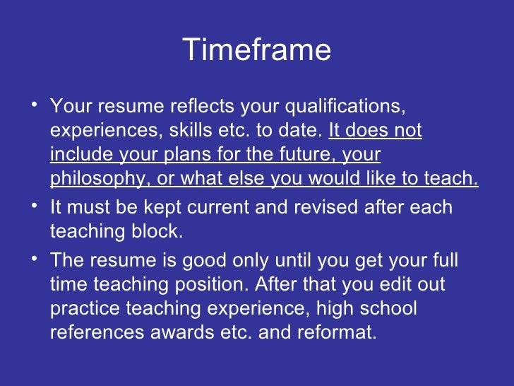 SlideShare  Teaching Experience On Resume