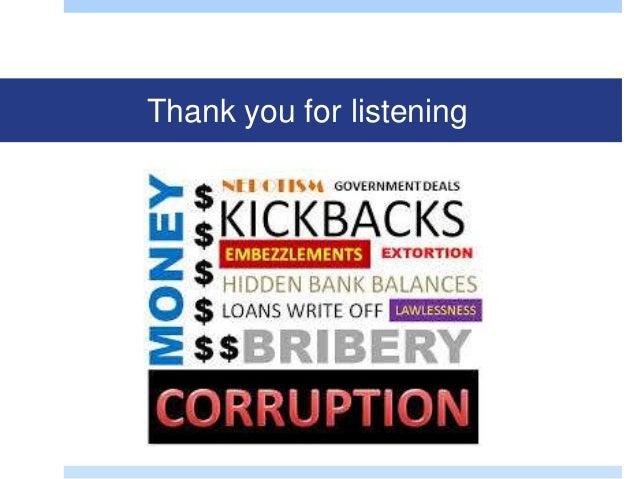 effect of corruption on kenyas economoc Impact of devolution on kenya economic status the most notable economical impact of devolution is devolved corruption.