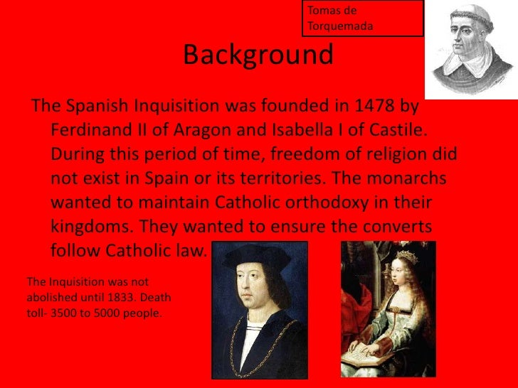 the spanish inquisition spain spanish inquisition