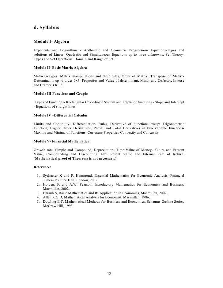 Syllabus for ba economics 12 13 d fandeluxe Gallery