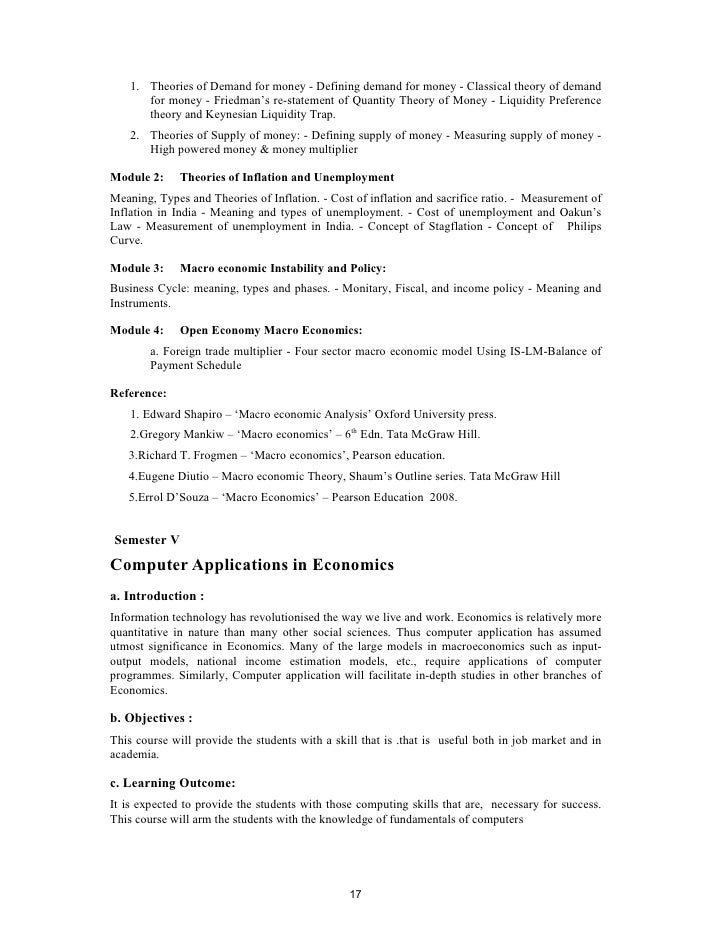 Syllabus for ba economics 16 17 1 fandeluxe Gallery