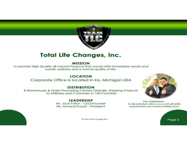total life changes business presentation