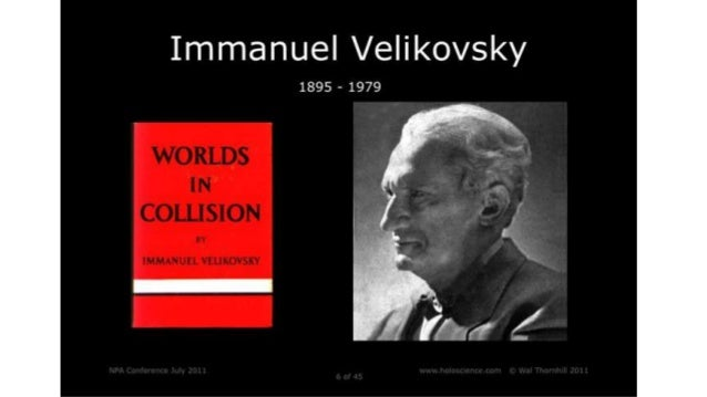 Born in Russia in 1895, Immanuel Velikovsky was one of 3 brothers. Their father Simon was a wealthy Jewish merchant who wa...