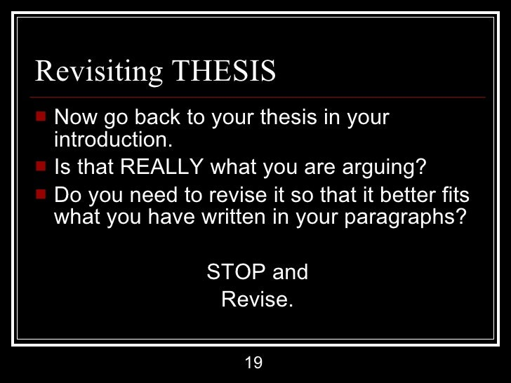 revising a essay 2010-4-22  how to write a revision plan the purpose of revision plans is to make your revision simpler and cleaner instead of just starting at the beginning of the essay and racing through to make changes, you need to decide which tasks are most important, and approach them in that order.