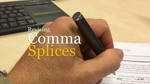Comma Revising Splices